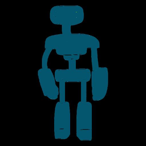 Computadora robot alienígena ai