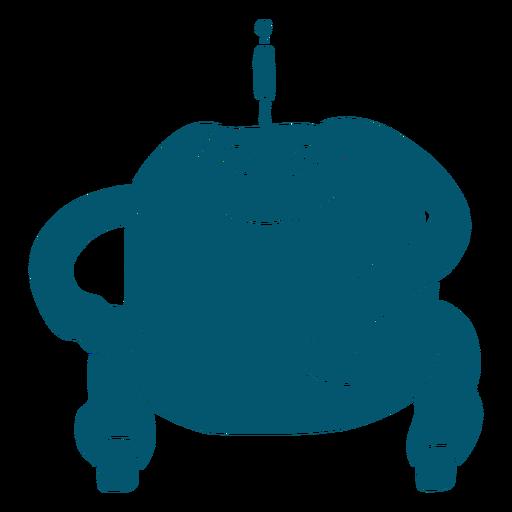Gran máquina robot grasa