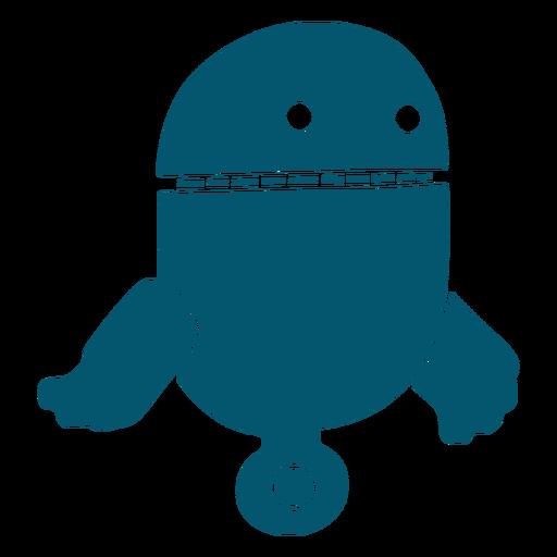 Robot cápsula pequeña máquina