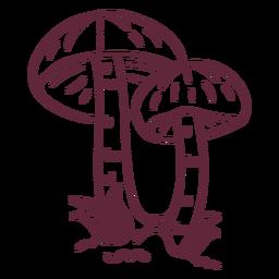 Fungus fly amanita stroke