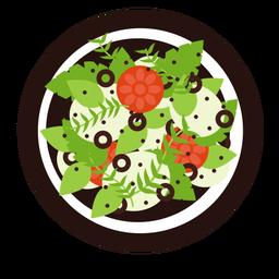 Green salad flat