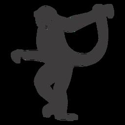 Mono bailando animal