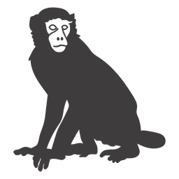 Mono todavía animal