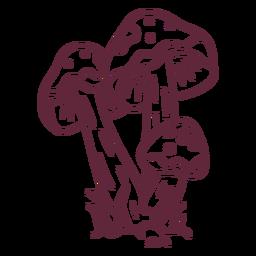 Mushroom amanita caesarea stroke