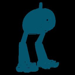 Robot de máquina de un ojo