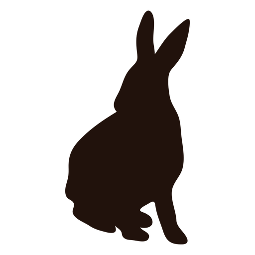 Rabbit alert silhouette