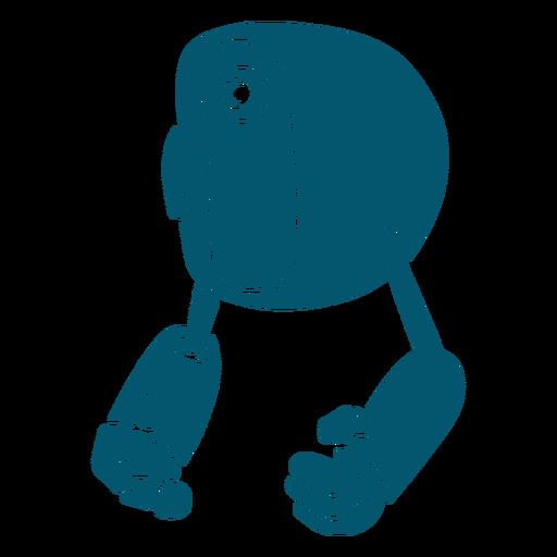 Robot máquina flotante sólida