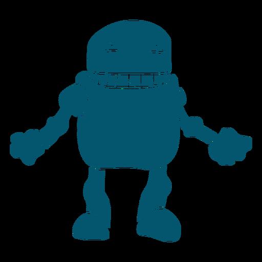 Pequeño robot androide