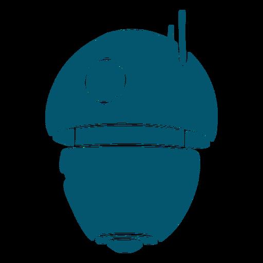 Small robot metal ai