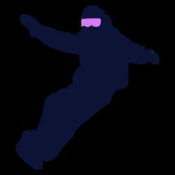 Snowboard Sport Silhouette Snowboarden