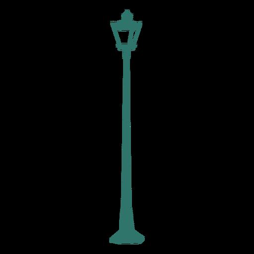 Lámpara de poste de luz de calle vintage