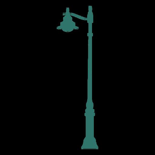 Street light pole vintage