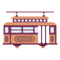 Streetcar vehicle flat