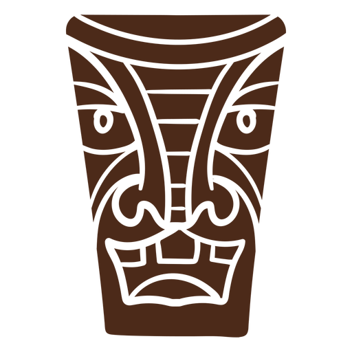 Tiki mask hawaii