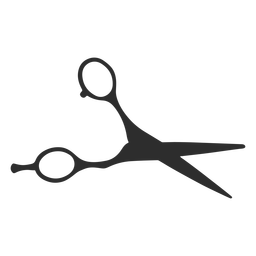 Silueta de hoja de tijeras de herramienta
