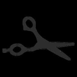 Tool scissors blade silhouette