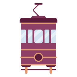 Trolley front flat