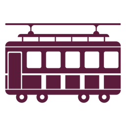 Trolley vehicle side