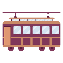 Trolley vehicle side flat