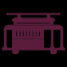Vehículo trolley vintage