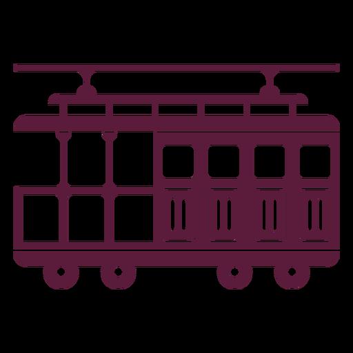 Vintage streetcar vehicle
