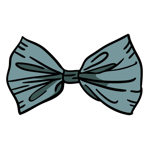Ilustração de gravata borboleta