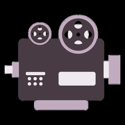 Icono plano de proyector de cine cl?sico