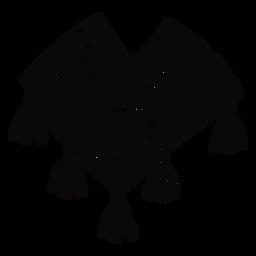 Colorida ropa andina negra