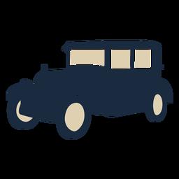Carro vintage duotone
