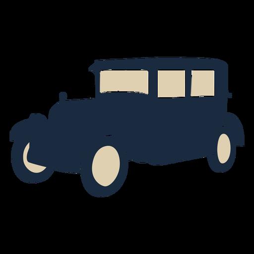 Duotone vintage car Transparent PNG