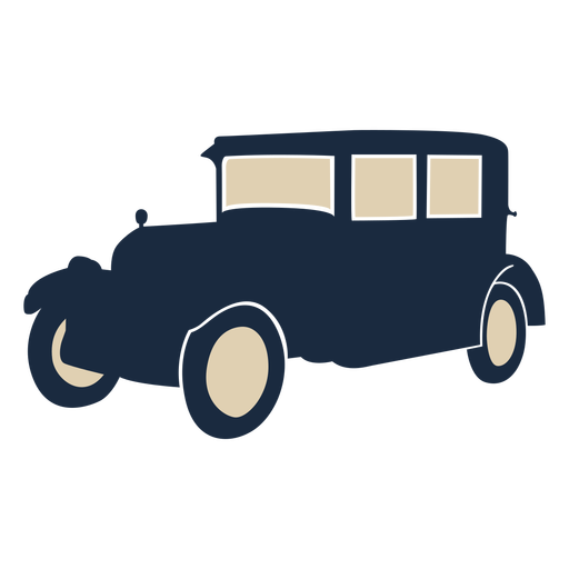 Duotone vintage car