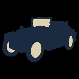 Duotone vintage car convertable