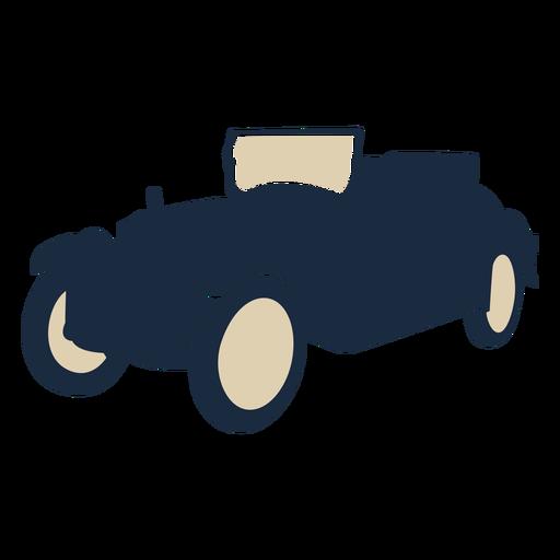 Duotone vintage car convertable Transparent PNG