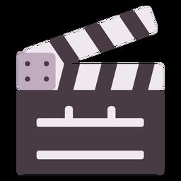 Film clap board gray