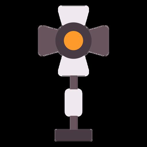 Icono plano de luces de película