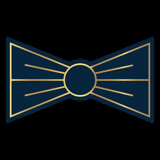 Geometric line bow tie