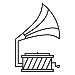 music gramophone icon transparent png svg vector file music gramophone icon transparent png