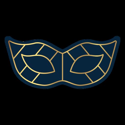 Geometric line masquerade eye mask