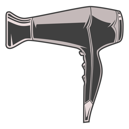 Hair blow dryer illustration