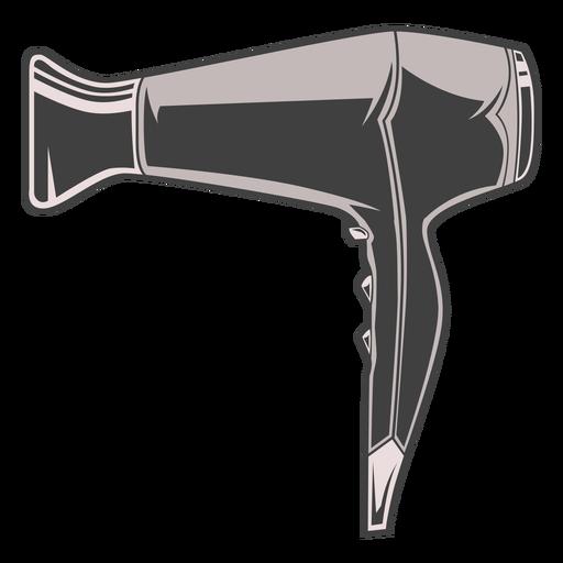 Ilustración de secador de pelo