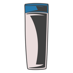 Lotion tube illustration