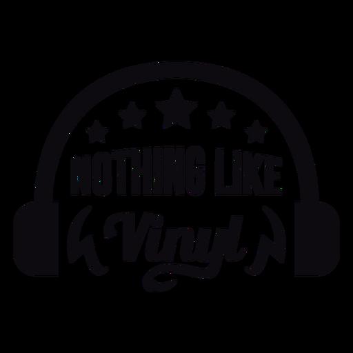 Nada como una placa de vinilo para auriculares Transparent PNG