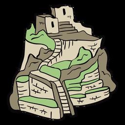 Ilustração Peru Machu Picchu