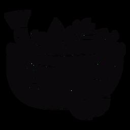Peruvian ceviche bowl black