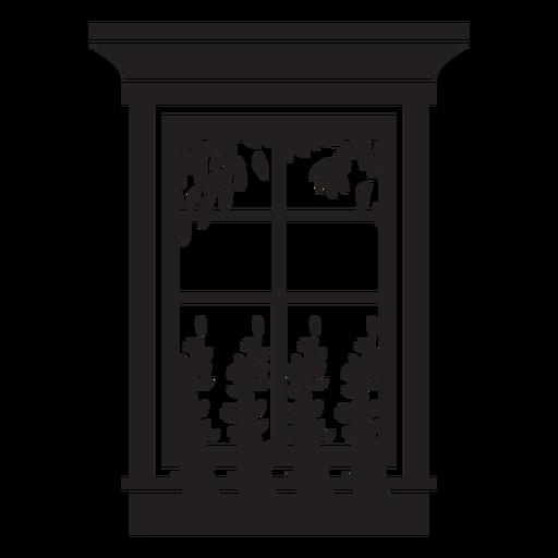 Rectangular window nature