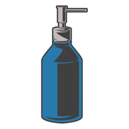 Soap pump bottle illustration