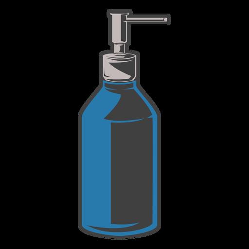 Soap pump bottle illustration