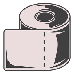 Toilet paper roll illustration