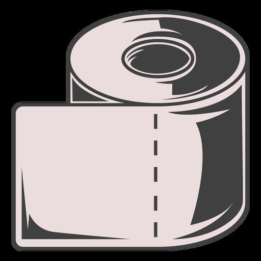 Toilet paper roll illustration