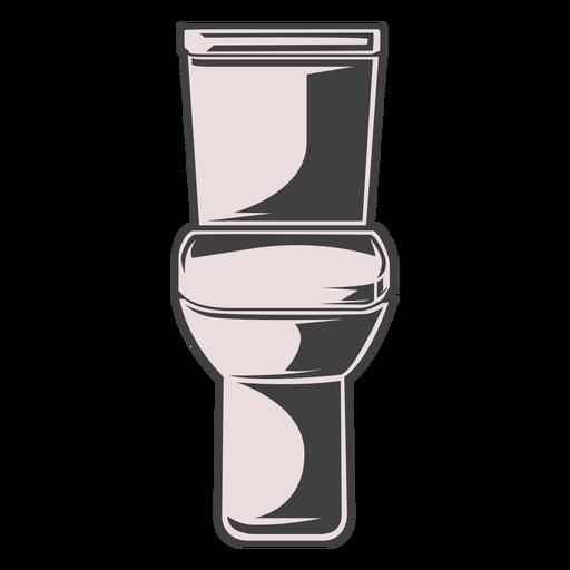 Toilet shade illustration